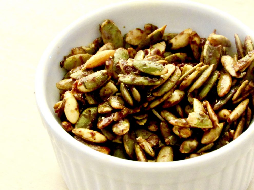 SWEET HOT PUMPKIN SPICE PUMPKIN SEEDS